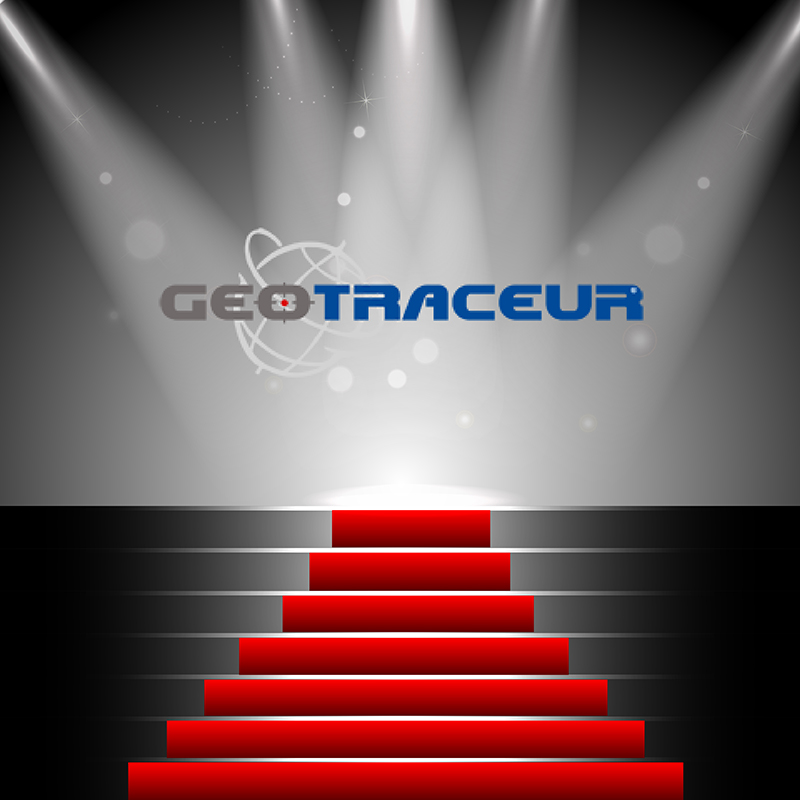 geotraceur tapis rouge